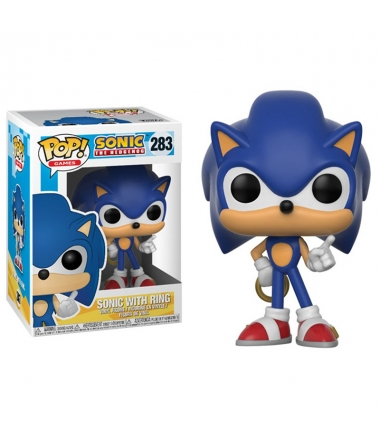 Pop! Games Sonic The Hedgehog 283 Sonic with Ring