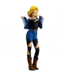 Figura Dragon Ball Z Android 18 25 cm azul oscuro