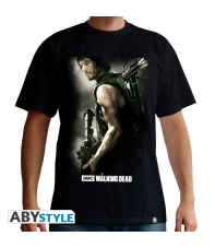 Camiseta The Walking Dead Daryl Crossbow Talla L Hombre