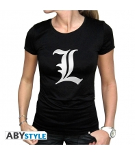 Camiseta Death Note L Tributo Talla L Mujer