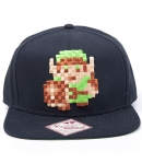Cap The Legend of Zelda Link 8 bits black