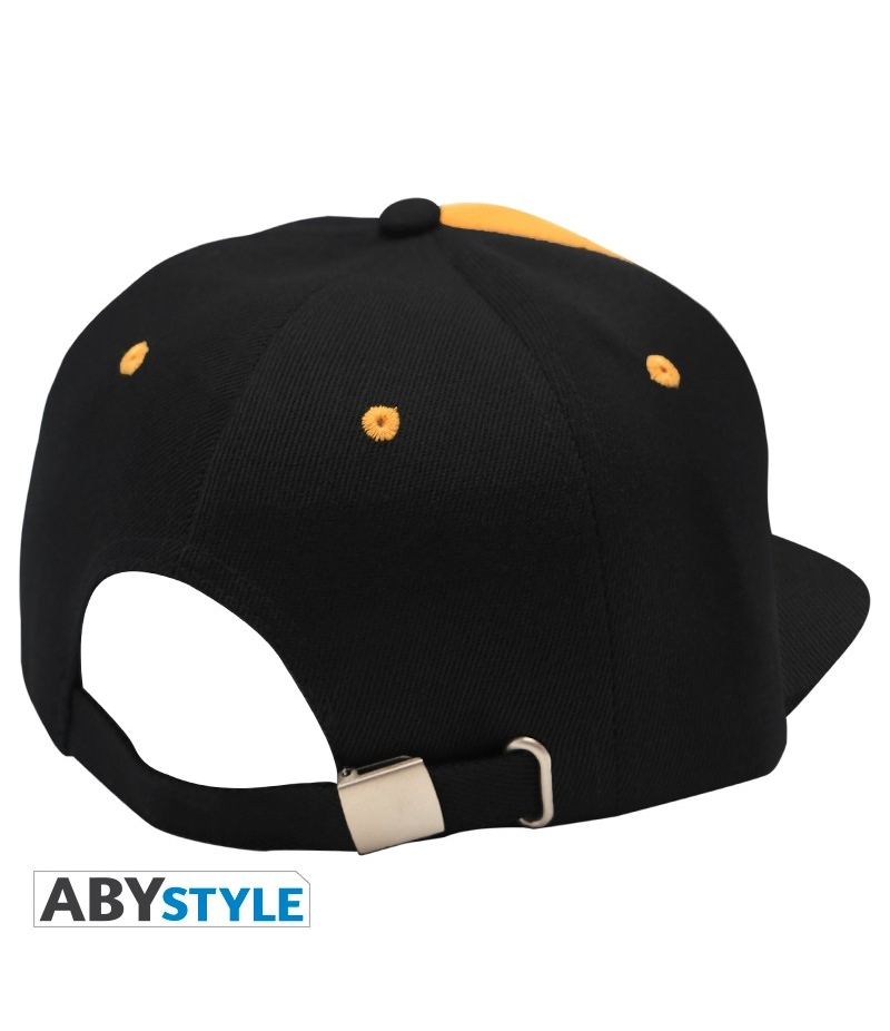 Cap One Piece Trafalgar Black and Yellow Snapback 3e65725b0f8