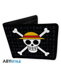 Wallet One Piece Skull Luffy