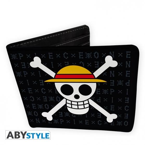 Wallet One Piece Skull Luffy