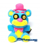 Peluche Five Nights at Freddy's Freddy Blacklight Azul 18 cm