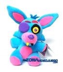 Peluche Five Nights at Freddy's Foxy Blacklight Azul 18 cm