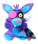 Peluche Five Nights at Freddy's Foxy Blacklight Lila 18 cm