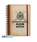 Libreta Harry Potter Hogwarts School