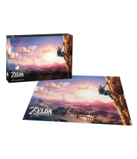 Puzzle The Legend of Zelda Breath of the Wild Scaling Hyrule