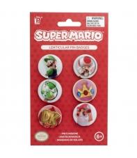 Pin Set Super Mario Lenticulares