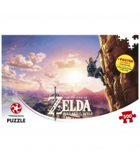 Puzzle The Legend of Zelda Breath of the Wild Scaling Hyrule 500 piezas