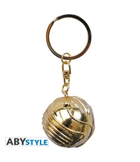 Keychian Harry Potter 3d Golden Snitch