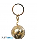Llavero Harry Potter 3d Snitch Dorada