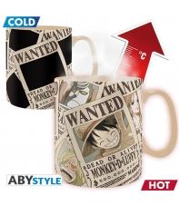 Taza One Piece Wanted, Sensitiva al Calor 460 ml