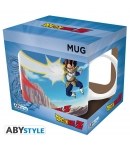 Taza Dragon Ball Goku vs Vegeta 320 ml