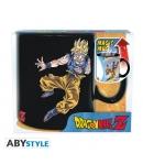 Taza Dragon Ball Z Goku vs Buu, Sensitiva al Calor 460 ml