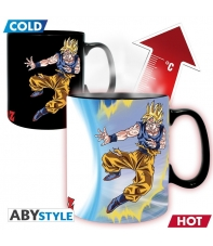 Taza Dragon Ball Z Goku vs Buu, Sensitiva al Calor 460 ml
