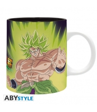 Taza Dragon Ball Broly vs Goku y Vegeta 320 ml