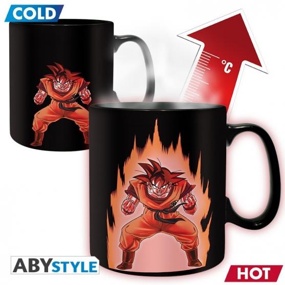 Taza Dragon Ball Z Goku, Sensitiva al Calor 460 ml