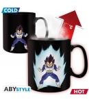 Taza Dragon Ball Z Vegeta, Sensitiva al Calor 460 ml