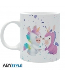 Taza Raving Rabbids Unicornio 320 ml