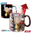 Taza One Punch Man Heroes, Sensitiva al Calor 460 ml