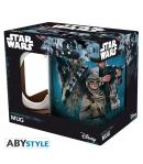Taza Star Wars Rey, Finn y Chewbacca 320 ml