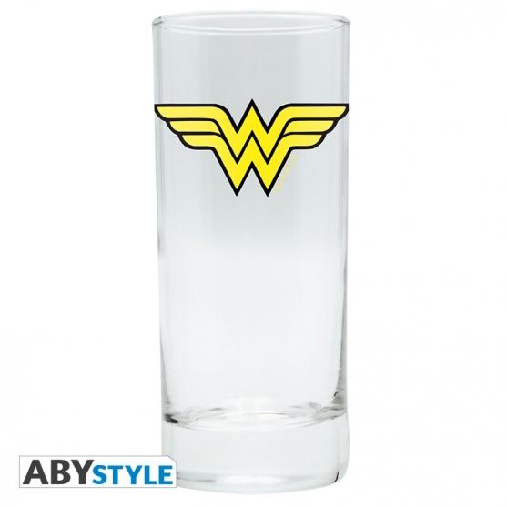 Vaso de Tubo Dc Wonder Woman