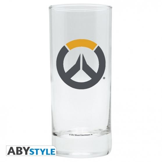 Vaso de Tubo Overwatch Logo