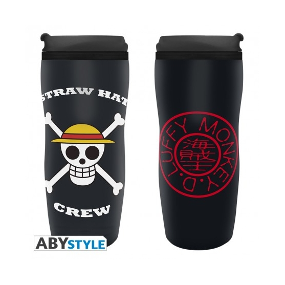 Taza de Viaje One Piece Luffy 355 ml