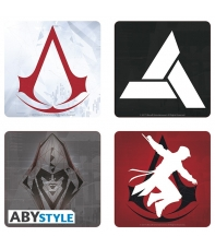 Set 4 Coasters Assassin's Creed