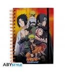 Libreta Naruto Grupo Konoha