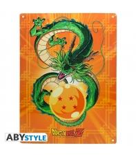 Placa Metálica Dragon Ball Z Shenron