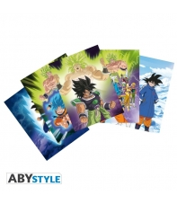 Set 5 Postales Dragon Ball Super Broly