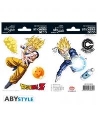 Pegatinas Dragon Ball Z Goku y Vegeta