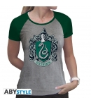 Camiseta Harry Potter Slytherin Mujer