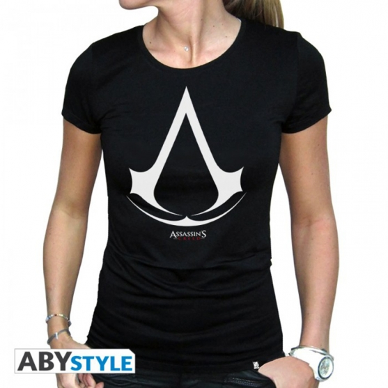 Camiseta Assassin's Crest Logo Mujer
