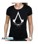 T-shirt Assassin's Crest Logo Woman