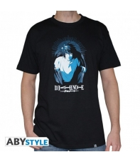 T-shirt Death Note L Character Man