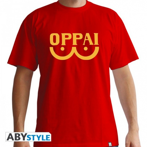 Camiseta One Punch Man Oppai Hombre