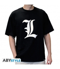 T-shirt Death Note L Tribute Man