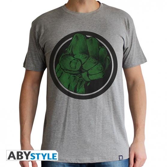 Camiseta Marvel Hulk Golpe Hombre
