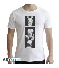 T-shirt Raving Rabbids Man