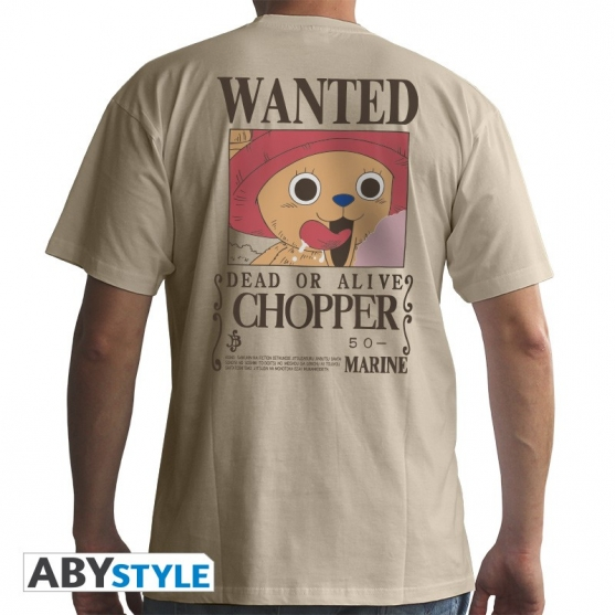 Camiseta One Piece Wanted Chopper Hombre