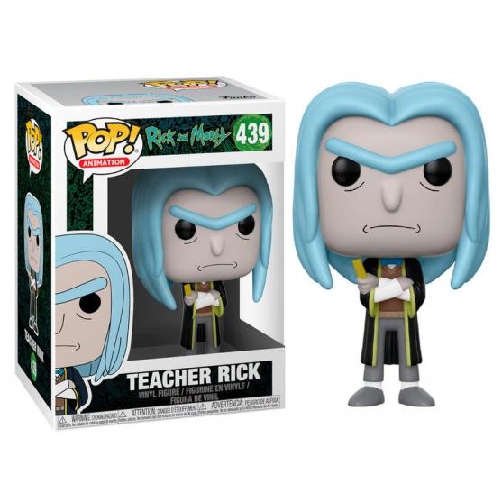 Pop! Animation Teacher Rick 439 Rick and Morty
