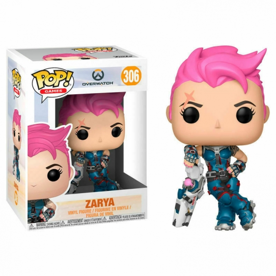 Pop! Games Zarya 306 Overwatch
