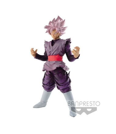 Figura Dragon Ball Super Son Goku Blood of Saiyans Rose 18 cm