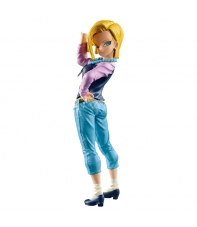 Figure Dragon Ball Z Android 18 Scultures 16 cm