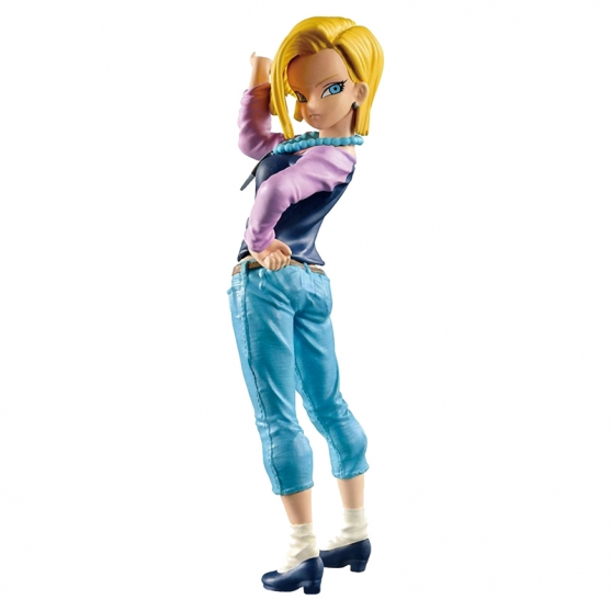 Figura Dragon Ball Z Android 18 Scultures 16 cm