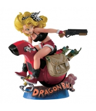 Figure Dragon Ball Lunch & Motorbike Scultures 12 cm